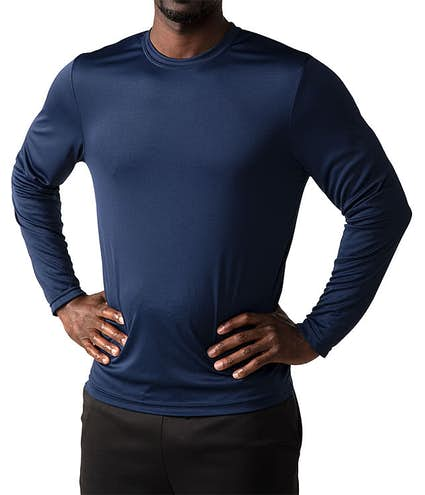 7917ac9f03e4 Custom Hanes Cool Dri Long Sleeve Performance Shirt - Design Long ...