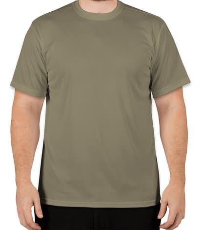 Soffe Military Performance Mesh T-shirt - Tan