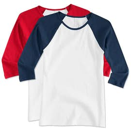 Canada - Bella + Canvas Juniors Raglan Crew