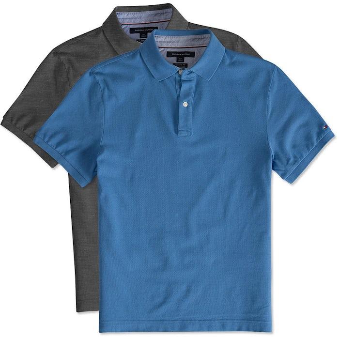 67c6e6ffb Custom Tommy Hilfiger Ivy Pique Polo - Design Premium Polos Online ...