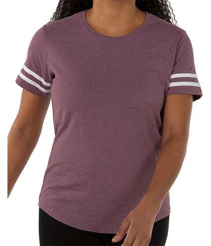 d6a3968d3 Custom Gildan Women's Varsity T-shirt - Design Women's Short Sleeve ...