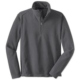 Port Authority Value Quarter Zip Fleece Pullover