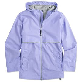 Charles River Women's New Englander Hooded Rain Jacket