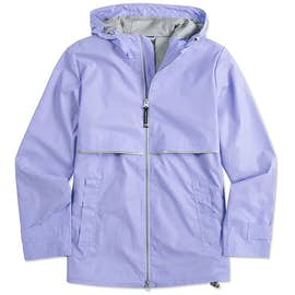 Charles River Women's New Englander Hooded Rain Jacket