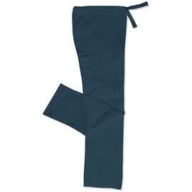 Cherokee Workwear Originals Drawstring Cargo Scrub Pant