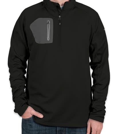 Eddie Bauer Half Zip Performance Pullover - Black