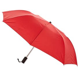 "Arc Auto Open Solid Telescopic 44"" Folding Umbrella"