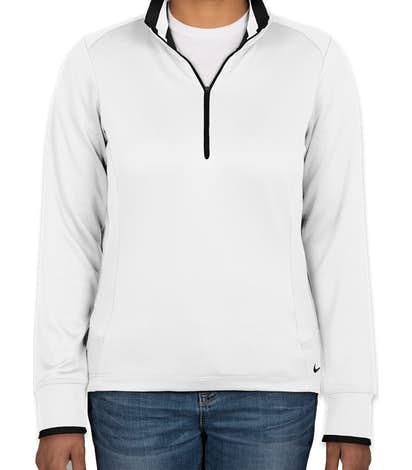54f437f2 Design Nike Golf Ladies Dri-FIT Half-Zip Performance Pullover Online ...