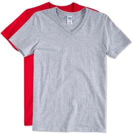 Gildan Softstyle Jersey V-Neck T-shirt