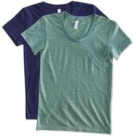 American Apparel Juniors Tri-Blend T-shirt