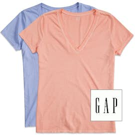 GAP Women's Vintage Wash V-Neck Tee