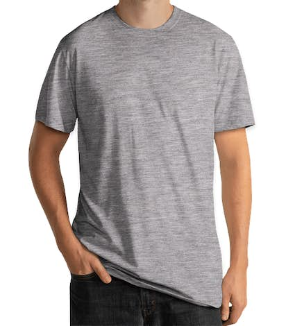 Delta Platinum Tri-Blend T-shirt - Athletic Heather