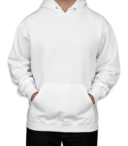 Canada - Jerzees Nublend® 50/50 Pullover Hoodie - White