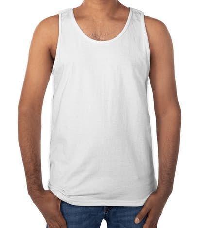 Gildan Ultra Cotton Tank - White