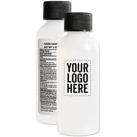 Customized 2 oz. Hand Sanitizer Bottle