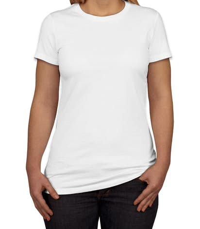 Canada - Bella + Canvas Juniors Favorite T-shirt - White