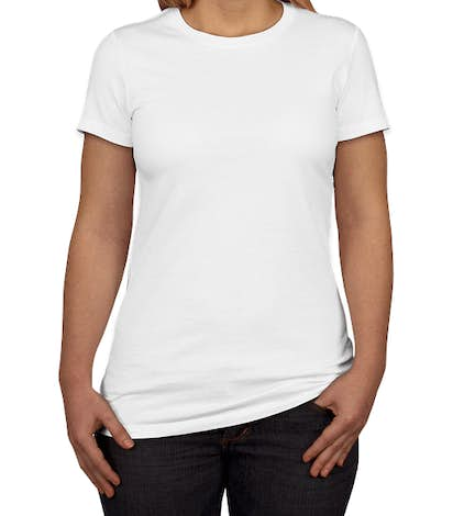 Canada - Bella + Canvas Women's Slim Fit Favorite T-shirt - White
