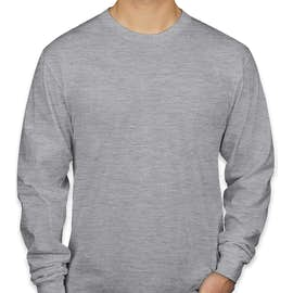 American Apparel Long Sleeve T-shirt - Color: Heather Grey