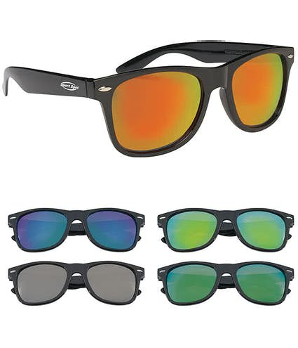 9c8fd3966e2 Design Custom Printed Mirrored Malibu Sunglasses Online at CustomInk