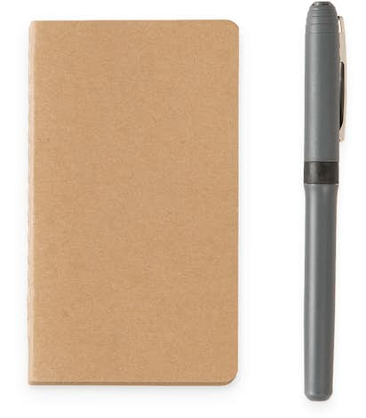 Recycled Soft Cover Mini Pocket Notebook - Natural
