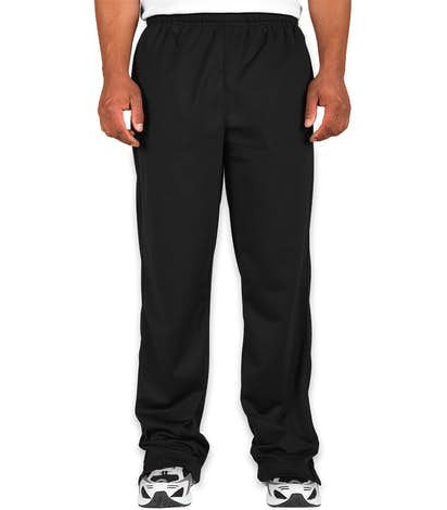 Sport-Tek Tricot Warm-Up Pant - Black