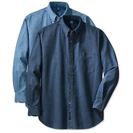 Port & Company Denim Shirt