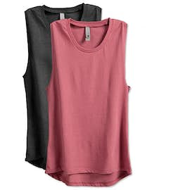 Next Level Women's Festival Fitted Muscle Tank