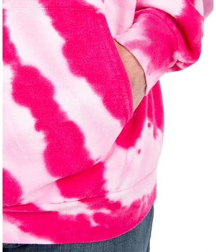 c846a8564d8 Design Custom Printed - Port   Company Tie-Dye Pullover Hoodie ...