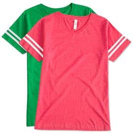 LAT Women's Varsity V-Neck T-shirt