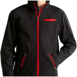 Spyder Transport Soft Shell Jacket - Color: Black / Red