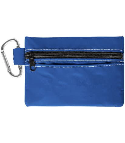 Zippered 20-Piece First Aid Pouch - Royal Blue