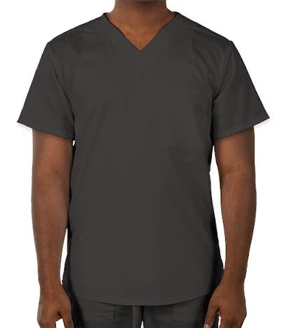 Cherokee Workwear Revolution One-Pocket Scrub Top - Pewter