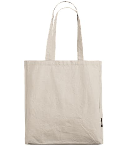Bagito 100% Organic Cotton Gusseted Tote - Natural Cotton