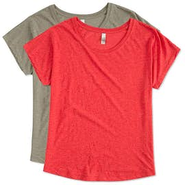 Next Level Women's Tri-Blend Dolman T-shirt