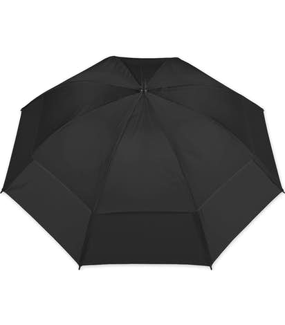 "Vitronic Wind Tamer Vented Golf 62"" Umbrella - Black"