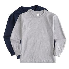 Hanes Youth ComfortSoft® Long Sleeve Tagless T-shirt