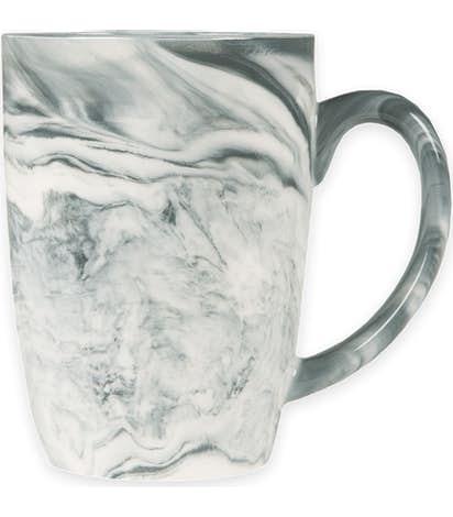 16 oz. Marbled Ceramic Mug - Black