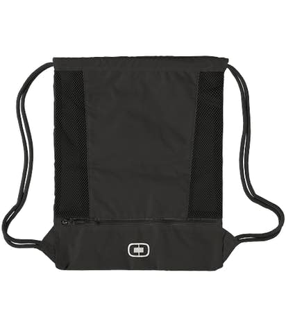 OGIO Pulse Drawstring Bag - Black