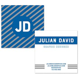 "2.5"" x 2.5"" Square Business Cards - 14 pt. Cardstock"