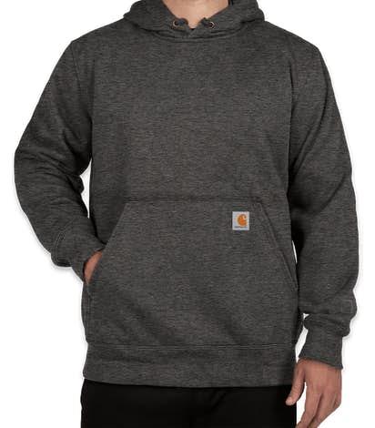 Carhartt Rain Defender Paxton Heavyweight Hooded Sweatshirt - Carbon Heather
