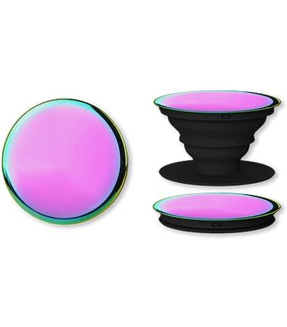 Laser Engraved Iridescent PopSocket® - Iridescent
