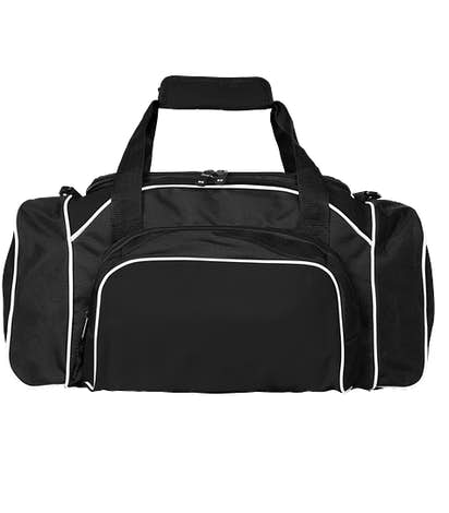 Holloway League Duffel Bag - Black / Black / White