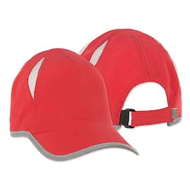 Big Accessories Colorblock Performance Running Hat
