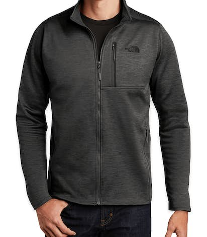 The North Face Skyline Full Zip Fleece Jacket - TNF Dark Grey Heather