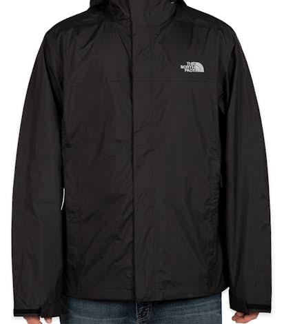 The North Face Waterproof Windbreaker Jacket - Black