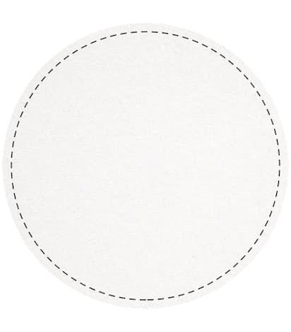 Circle Cardboard Coaster - White