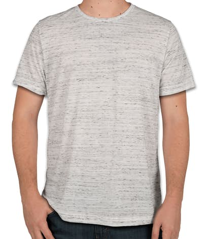 Bella + Canvas Melange Blend T-shirt - White Marble