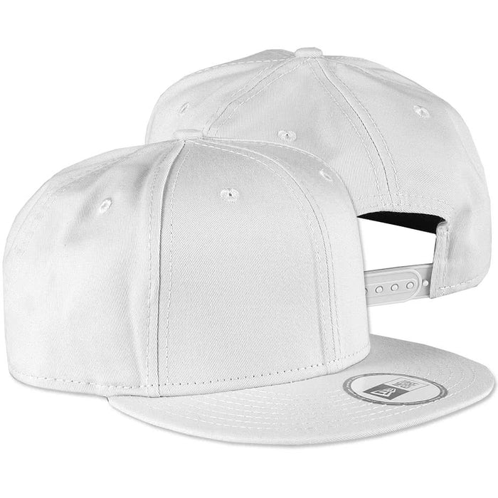Custom New Era Flat Bill Snapback Hat - Design Premium Hats Online ... 6f59de1053b