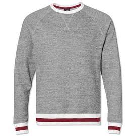 J. America Varsity Crewneck Sweatshirt