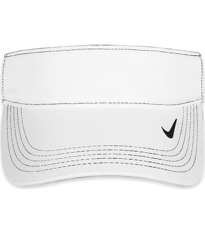 Nike Golf Dri-FIT Swoosh Performance Visor - White